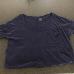 Old Navy Tops - Navy blue boyfriend tshirt